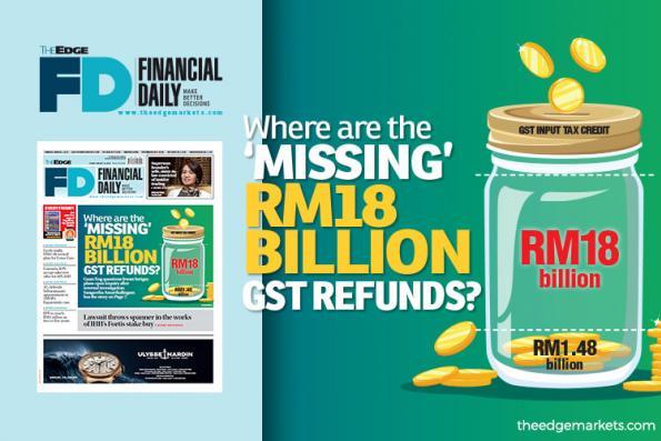 Where are the 'missing' RM18b GST refunds?
