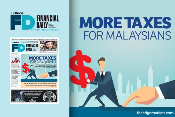 More taxes for Malaysians