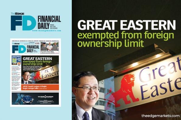 大东方豁免外资持股权限制