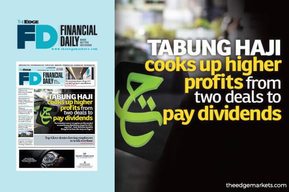 Tabung Haji cooks up higher profits from two deals to pay dividends