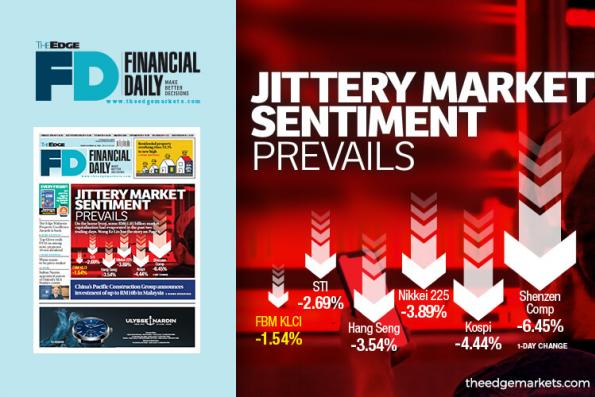 Jittery market sentiment prevails