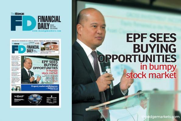 EPF在颠簸的股市中看到买入机会