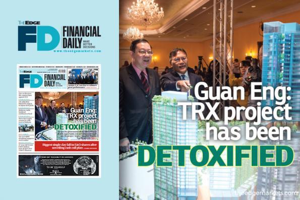 Guan Eng: TRX project has been detoxified