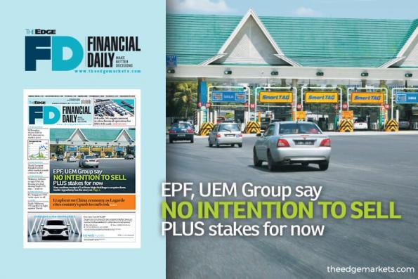 EPF与UEM集团:目前无意脱售南北大道公司股权