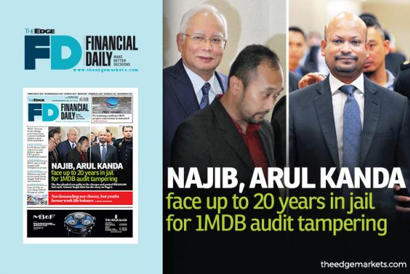 Najib, Arul Kanda claim trial to 1MDB audit tampering