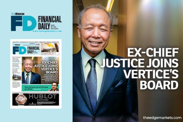 Ex-chief justice joins Vertice's board