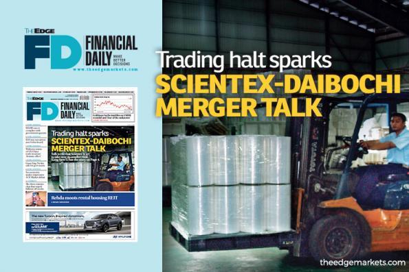 Trading halt sparks Scientex-Daibochi merger talk