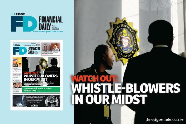 Watch out: Whistle-blowers in our midst