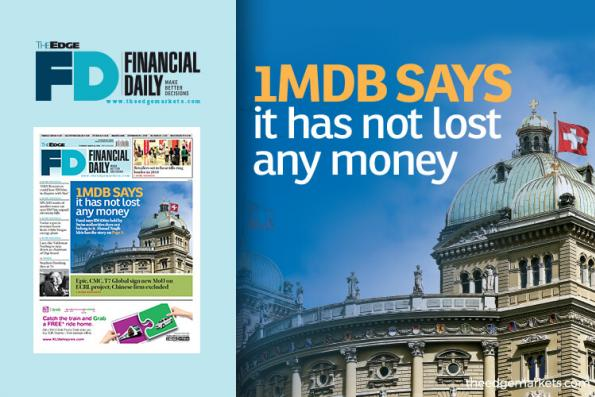 We have not lost any money — 1MDB