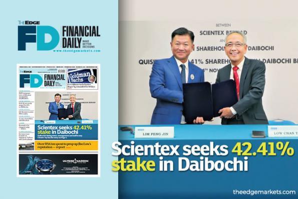 Scientex seeks 42.41% stake in Daibochi