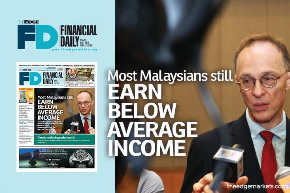 Most Malaysians still earn below average incomes