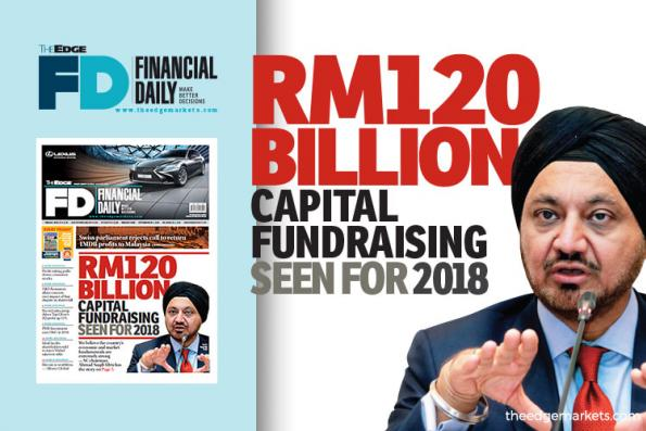 RM120b capital fundraising seen for 2018