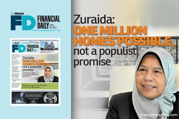 Zuraida: One million homes possible, not a populist promise
