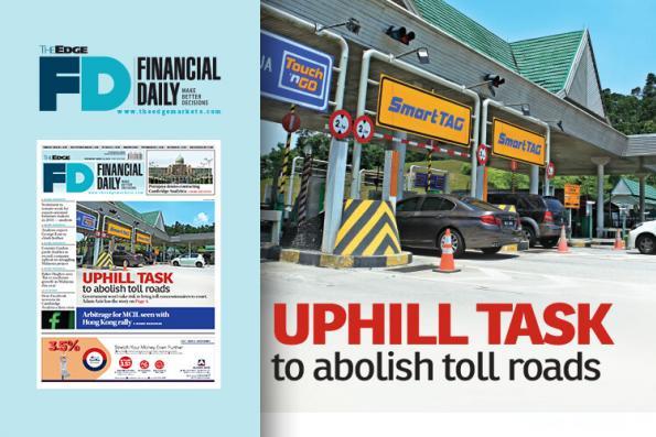Uphill task to abolish toll roads
