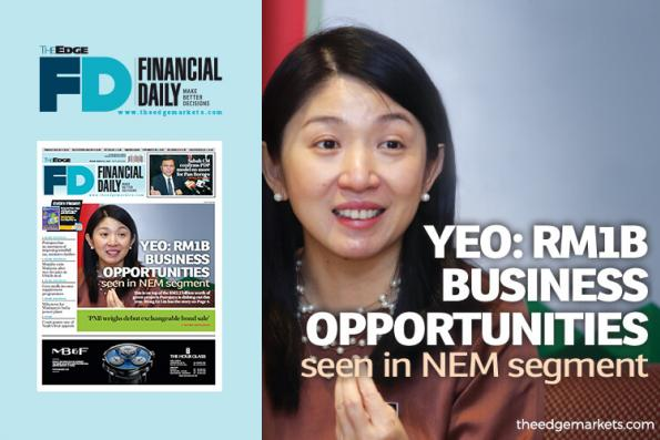 Yeo sees RM1b business opportunities in NEM segment