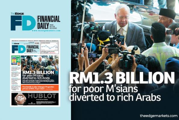 RM1.3b for poor M'sians diverted to rich Arabs