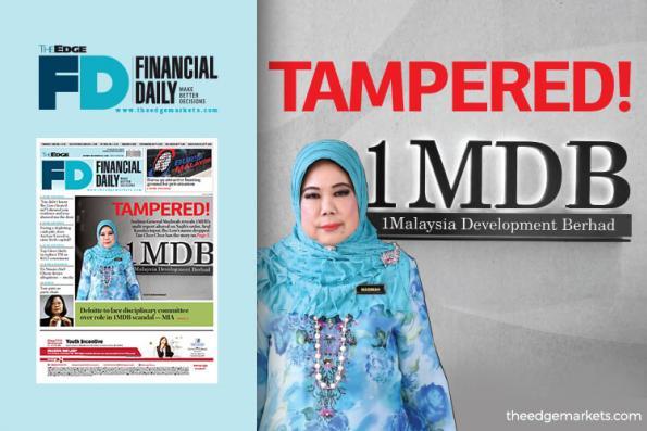 A-G confirms 1MDB report altered