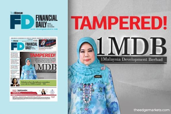 总稽查司证实1MDB报告被窜改