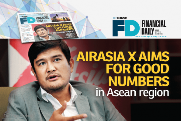 AirAsia X aims for good numbers in Asean region