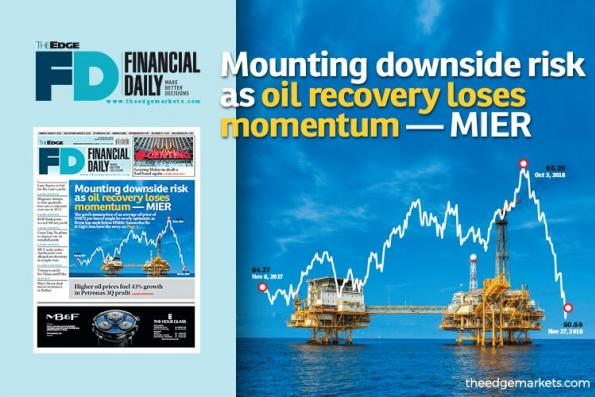 油价复苏失动力 下行风险加大