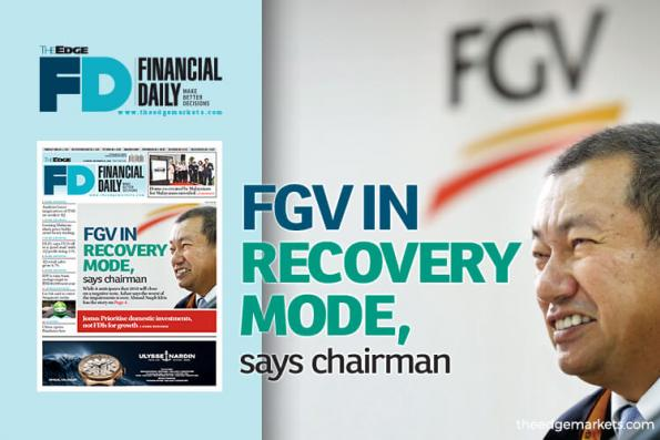 FGV in recovery mode, says chairman