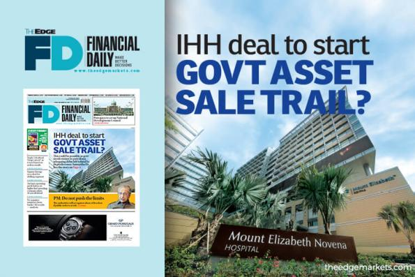 IHH deal to start government asset sale trail?