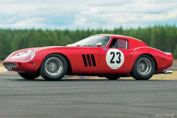Cars: Rare Ferrari 250 GTO sells for record US$48.4m at auction