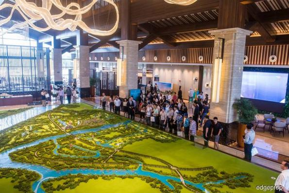 Hotel and show units of Forest City Golf Resort development unveiled