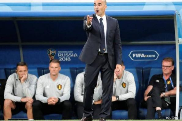 Belgium's Martinez says disappointed team must try to finish third