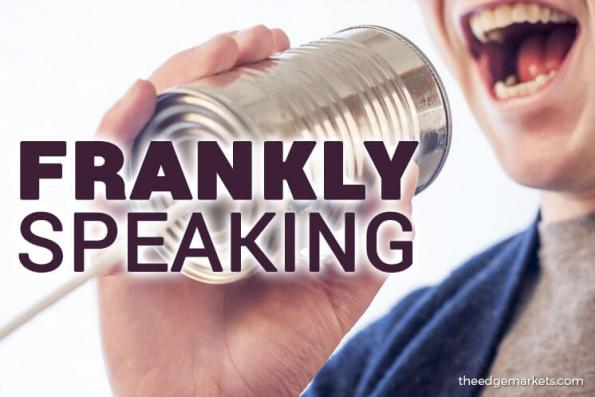 Frankly Speaking: Be transparent as well as fast