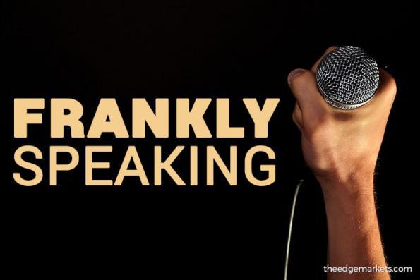 Frankly Speaking: Lack of premium