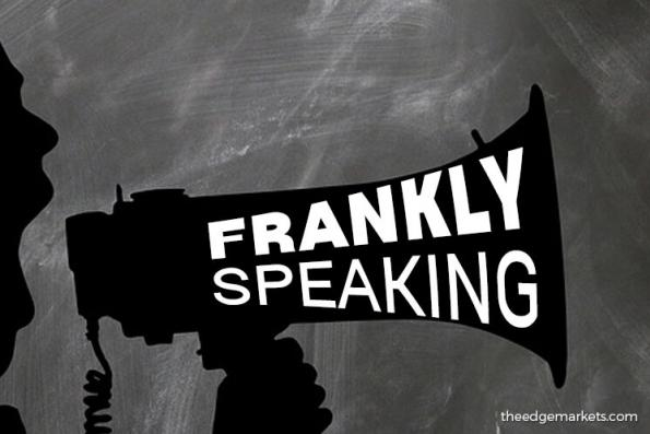 Frankly Speaking: Solving problems more crucial