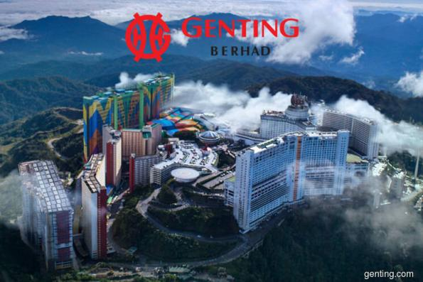 Genting climbs 2.14% on better earnings from Singapore arm