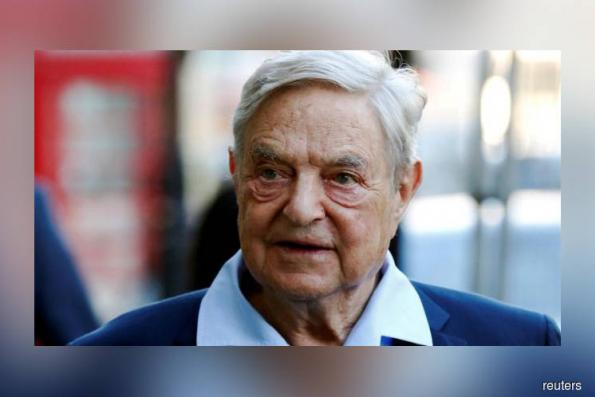 Facebook and Google criticised by George Soros