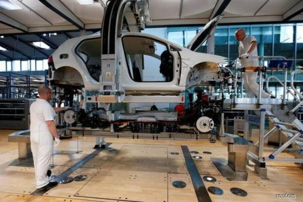 German car production stalled by 24-hour strikes