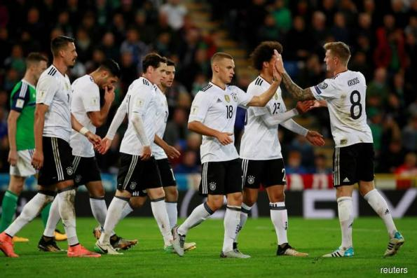 Germany qualify for World Cup with easy win over N.Ireland