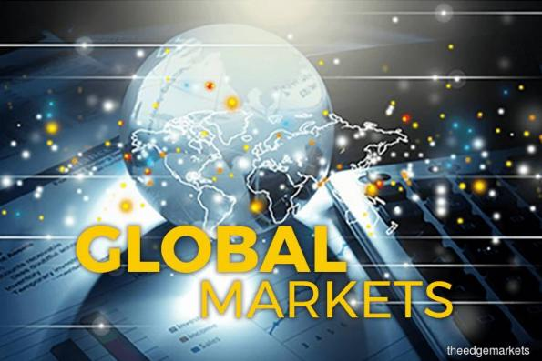 Equities' slide sends bonds, gold higher, dents greenback