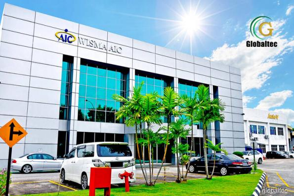Globaltec shares suspended for an hour