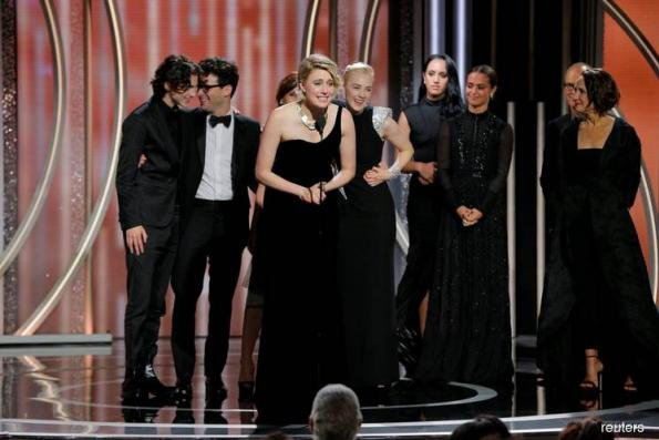 'Three Billboards', 'Lady Bird' win top Golden Globes