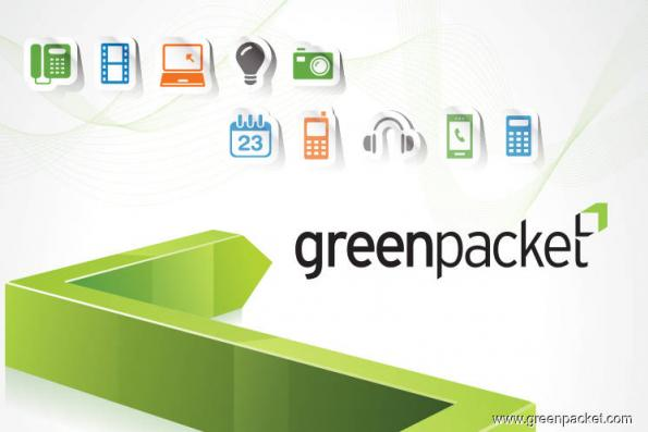 Green Packet active, down 6.9% after posting third consecutive quarterly loss