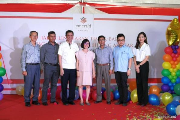 New access road to Emerald Rawang opens