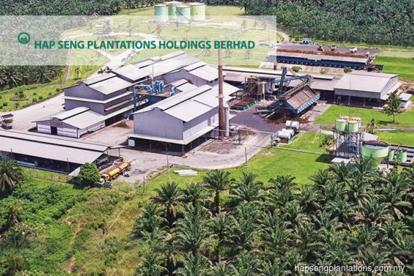 Hap Seng Plantations 3Q profit down