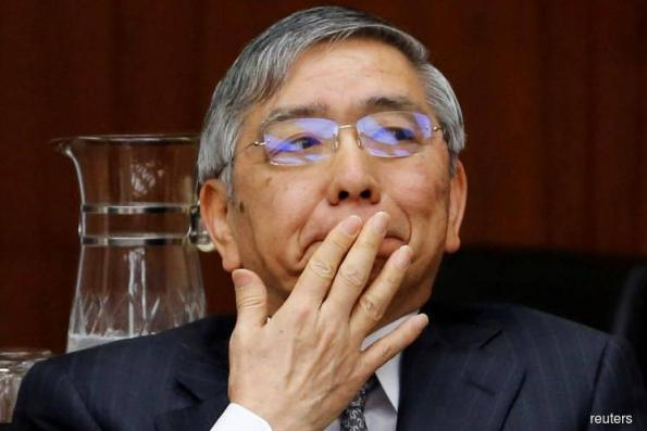 Bank of Japan's Kuroda bags a tricky second term