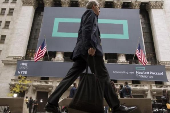 Hewlett Packard Enterprise is said to plan about 5,000 job cuts