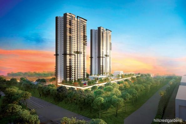 Hillcrest Gardens offers GBI-Gold Hillcrest Heights, Puchong Utama from RM588 psf
