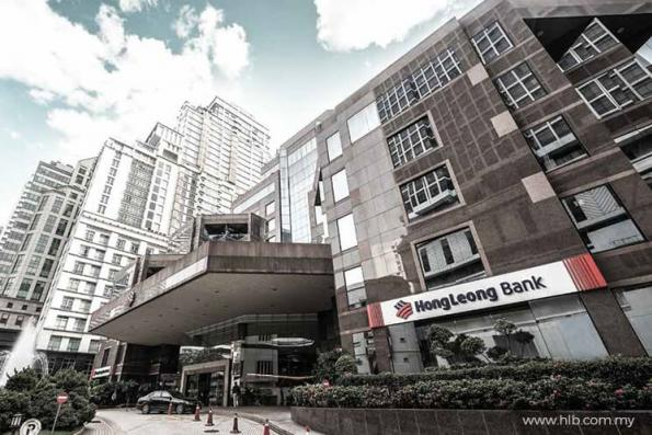 Hong Leong Bank down to lowest in 15 weeks