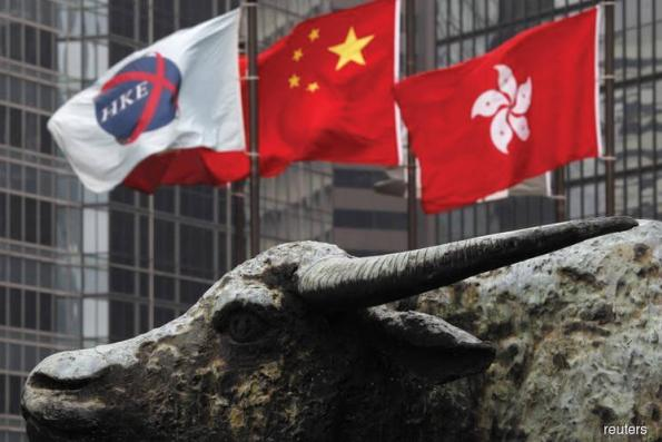 Hong Kong stocks rally, aided by services and financial firms