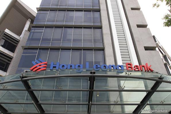 Hong Leong Bank falls 6.4%, tracking finance index