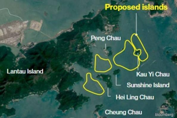 Hong Kong unveils US$80 bil budget for artificial islands