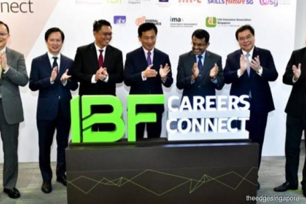 IBF career centre launched to help finance professionals with skills upgrading, job matching